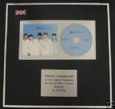 BOYZONE - CD single Award - WORDS